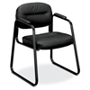 HON HVL653 Sled Base Guest Chair, Fixed Arms HVL653.SB11