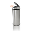 waste receptacles: iTouchless - 42 Liter Automatic Stainless Steel Touchless Trash Can® NX