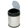 iTouchless 8 Gallon Stainless Steel Touchless Trash Can- Extra-Wide Opening ITO IT08RS