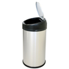 iTouchless 13 Gallon Stainless Steel Touchless Trash Can- Extra-Wide Opening ITO IT13RS
