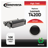 Innovera Innovera Remanufactured 12A7410/12A7315 Toner, 10000 Page-Yield, Black IVR T420