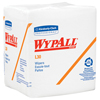 cleaning chemicals, brushes, hand wipers, sponges, squeegees: Kimberly Clark Professional - WypAll* L30 Quarterfold Wipers
