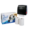 Kimberly Clark Professional Scott® Slimroll* Starter Kit - Dispenser + 2 Rolls KCC 31700