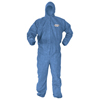 Protection Apparel: Kimberly Clark Professional - KLEENGUARD* A60 Bloodborne Pathogen & Chemical Splash Protection Apparel