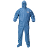 Protection Apparel: Kimberly Clark Professional - A60 Elastic-Cuff and Back Hood and Boot Coveralls