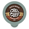 kcups: Crazy Cups - Decaf Death By Chocolate Keurig K-Cup® Compatible Single Serve Cups