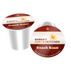 Barnie's Coffee Kitchen French Roast Keurig K-Cup® Compatible Single Serve Cups KCU SNBA328151-48