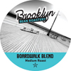 Brooklyn Bean Roastery Boardwalk Blend, Ex Bold Keurig K-Cup® Compatible Single Serve Cups KCU SNBR4110-96