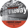 Brooklyn Bean Roastery Cinnamon Subway Keurig K-Cup® Compatible Single Serve Cups KCU SNBR4200-48