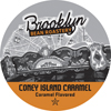 Brooklyn Bean Roastery Coney Island Caramel Keurig K-Cup® Compatible Single Serve Cups KCU SNBR4205-48