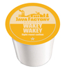 Java Factory Wakey-Wakey Keurig K-Cup® Compatible Single Serve Cups KCU SNJF5102-48