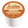 Java Factory Smooth Caffeinator Keurig K-Cup® Compatible Single Serve Cups KCU SNJF5104-48