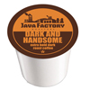 Java Factory Dark & Handsome Keurig K-Cup® Compatible Single Serve Cups KCU SNJF5106-48