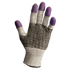 hand protection: Kimberly Clark Professional Jackson Safety G60 PURPLE NITRILE Gloves - Large