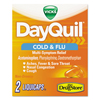 first aid medicine and pain relief: DayQuil® Cold Flu