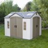 sheds & outdoor Storage: Lifetime Products - 10' x 8' Garden Shed with 2 Doors