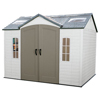 Storage Sheds: Lifetime Products - 10x8 Garden Shed