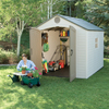 Storage Sheds: Lifetime Products - Sentinel 8' x 10' Shed