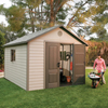 storage shed: Lifetime Products - 11' x 13.5' Shed