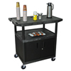 Luxor Coffee Service Cart LUX HE40CWT-B