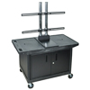 """Luxor TV Mount Stands: Luxor - 27"""" Mobile TV Table Top Stand"""