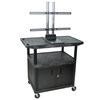 """Luxor TV Mount Stands: Luxor - 40"""" Mobile TV Table Top Stand"""