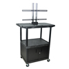 """Luxor TV Mount Stands: Luxor - 48"""" Mobile TV Table Top Stand"""