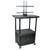 """Luxor TV Mount Stands: Luxor - 54"""" Mobile TV Table Top Stand"""