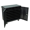 double markdown: Luxor - 24 Bay Laptop Storage/Recharging Cart