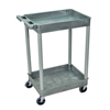 Luxor 2-Shelf Tub Cart LUX STC11-G