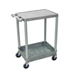 Luxor 2-Shelf Tub Cart LUX STC21-G