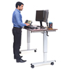 "double markdown: Luxor - 60"" Crank Adjustable Stand Up Desk"