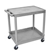 Luxor 2-Shelf Tub Cart LUX TC21-G