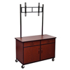 System-clean-furniture: Luxor - Flat Panel TV Console with Lockable Storage