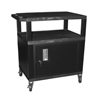 Luxor Tuffy Cart with Cabinet LUX WT34C2E