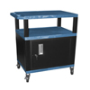 Luxor Tuffy Cart with Cabinet LUX WT34BUC2E-B