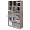 mailroom stations: Marvel Group - Mail Sorter with Adjustable Worksurface, Gray