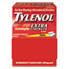 first aid medicine and pain relief: Tylenol® Extra-Strength Caplets