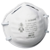 respiratory protection: 3M - Particle Respirator 8200, N95