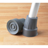 "canes & crutches: Guardian - Tip, Crutch, .75"", Large, Gray, Guardian"