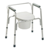 bedpans & commodes: Guardian - Commode, 3-in-1, Aluminum Folding, Each