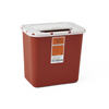 Hazardous Waste Control: Medline - Container, Sharps, 2 Gal., Red, Wall & Free