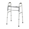 Samsonite-crutches-walkers: Medline - Two-Button Folding Walkers without Wheels