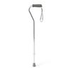 canes & crutches: Medline - Cane, Offset Handle, Chrome