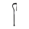 canes & crutches: Medline - Cane, Offset, Handle, Black