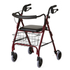 Samsonite-crutches-walkers: Medline - Deluxe Rollator