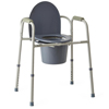 bedpans & commodes: Medline - Steel Bedside Commode