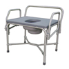 bedpans & commodes: Medline - Bariatric Drop-Arm Commode