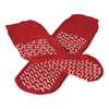 slippers: Medline - Slipper, Double-Tread Red One-Size-Fits-Most 48 Pair Cs