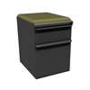 Marvel Group Zapf Mobile Pedestal w/Seat, Box/File, Dark Neutral, Fennel Fabric MLG ZSMPBF19C-DT-5826